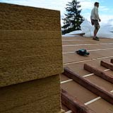 FiberTherm wood fiber roof density 160