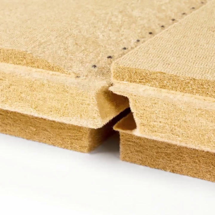Wood fiber FiberTherm Universal dry tongue and groove profile